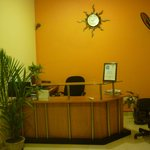 Hitel lobby and reception