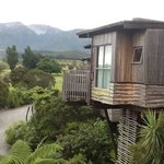 the treehuts beside ours