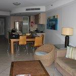 Living Area from Balcony