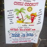 2014 Rotary Chili-cook-off in Barra!