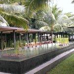 Center of the resort