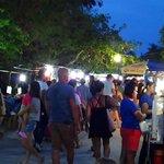Friday night Fishermans Village walk market