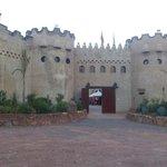 In a castle