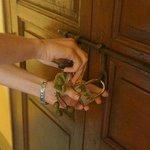 Дверь номера