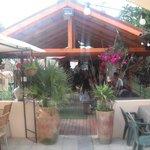 grande terrasse de 80 places et buvette d'été