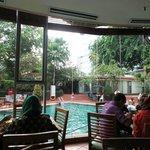 Restaurant Pool view