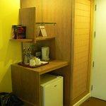 шкаф и минибар