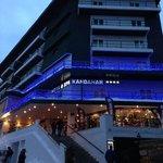 Hotel Kandahar from the street