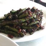 French beans with sambal