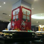 Christmas Deco at Breakfast