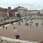Piazza Castello vista dal Palazzo Reale