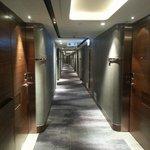The corridor of 17th floor