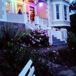 the Victorian house:)