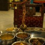 taste of india food....