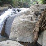а вот и водопад, 4 уровень