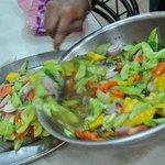 Vegetable Raita