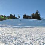 Skihang direckt vor dem Hotel