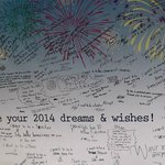 2014 New Year's Message Board