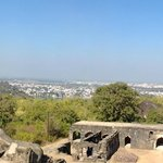 Panaromic view of Jabalpur from top of Madan Mahal Fort
