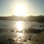 Pôr do sol em Praia Grande/Fundão/ES