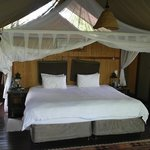 Our luxury tent at Thakadu River Camp