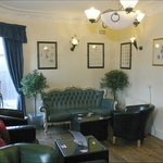 With friends or for business the lounge with it's eclectic low seating is an ideal place to meet