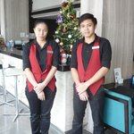 Unico Hotel restaurant staff