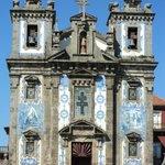 Igreja na cidade alta