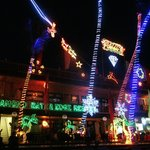 Fantastic Christmas Lights at the Resort