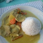 Beef Curry (About 250p)