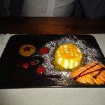 panna cotta con salsa di mango..deliziosa!!!