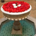 Rose filled Fountain