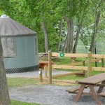 Cherokee Rose Yurt - sleeps up to 4