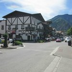 Downtown Leavenworth, literally steps away from the hotel!