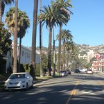 Doheny St...hotel is on left corner