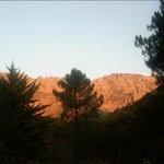 amanecer reflejado en la sierra