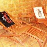 Sauna Ruhebereich