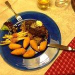 Hmmmmh, Filet von Pinzgauer Rind - perfekt gebraten.