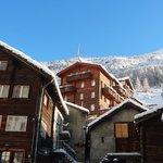 Hotel Monte Rosa - Ristorante Pane e Vino im Winter
