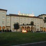 Esterno dell'Hotel Savoia regency