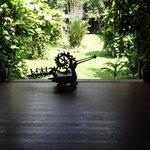inre trädgården liten men fin