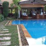 Nice saltwater pool