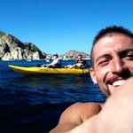 Kayaking in Cabo with Carlos!