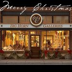 Big Horn Galleries at Christmas