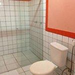 Flat para 4 pessoas - banheiro