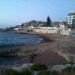 Bugibba beach