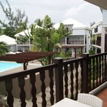 Terrasse (vue piscine)