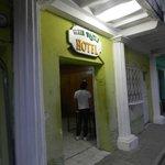Entrance on Calle Junio