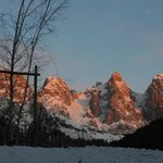le Pale di San martino all'alba