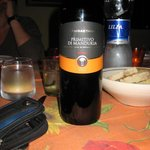 Superb wine of the Salento